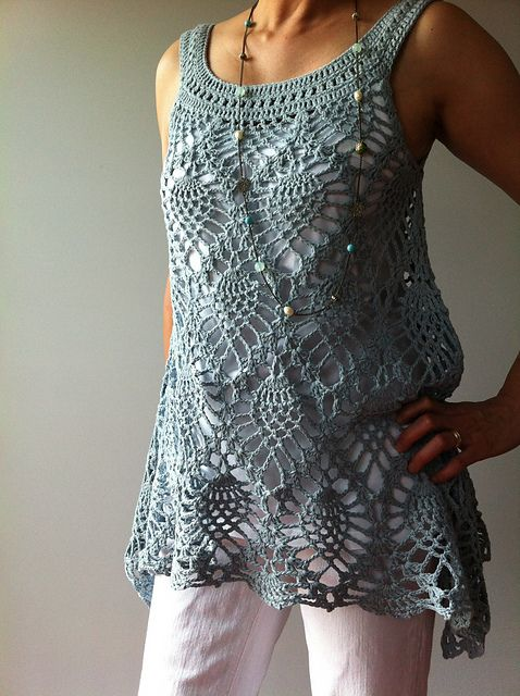 116 best images about CROCHET/KNIT SUMMER TOPS on ...