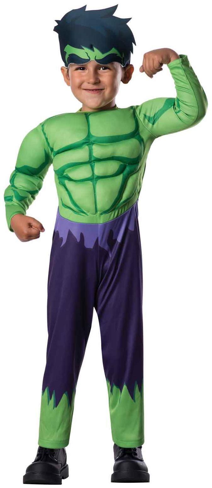 PartyBell.com - Avengers Assemble #Hulk Toddler Boy Costume