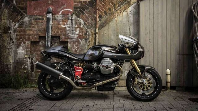 moto guzzi v11 cafe racer scura by ryuichiro nagai motorcycles caferacer motos. Black Bedroom Furniture Sets. Home Design Ideas