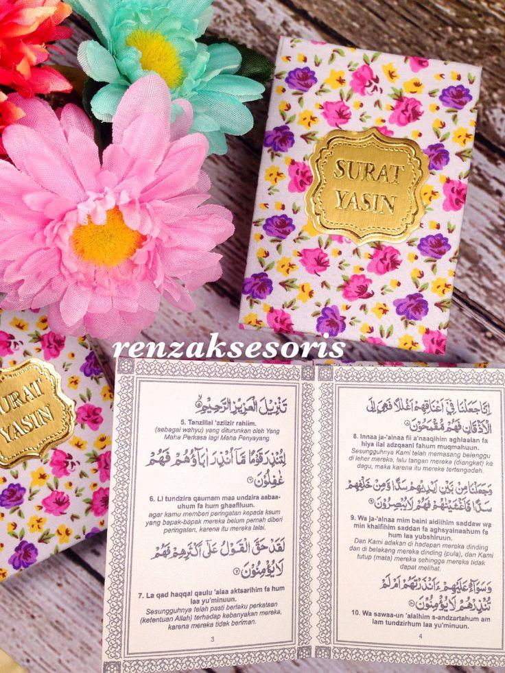 Yasin motif flowers