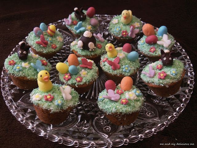 Me and my delicious me: Velikonoční košíčky - opožděně, ale přece!