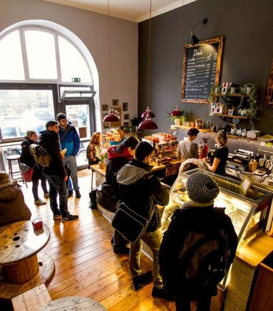 BUDAPEST - The Goat Herder-Espresso Bar An ideal place to start the day in the 7 district where you can get fruit, yogurt-muesli, shake and sandwich...