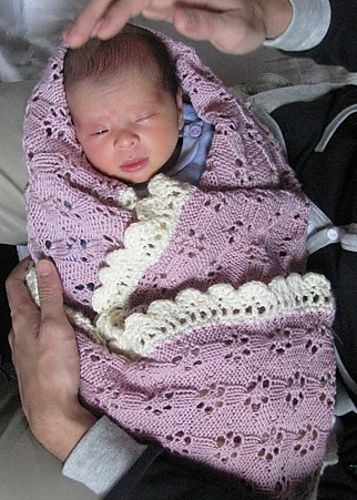 Crochet Lace Baby Blanket Free Pattern : 1000+ images about baby on Pinterest