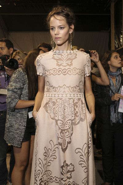 Valentino at Paris Spring 2012 (Backstage)