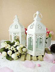 Simple Cut-out Iron Candle Lantern – USD $ 13.19