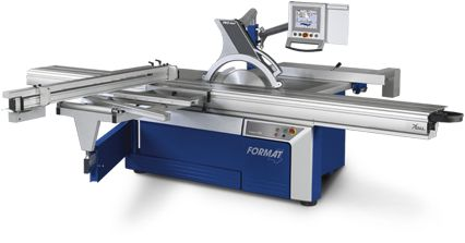 kappa 550 e-motion - Format-4 The particular highlights that impress with the kappa 550 e-motion areautomatic rip fence, unlimited tooling data storage positions and programable cutting programs. From the clearly laid out TFT touch screen control unit you can set all of the machine elements from a central position. #feldergroup #woodworkingmachines #woodworkingproducts #wood #kappa500 #slidingtablesaw #Formatkreissäge #Format4