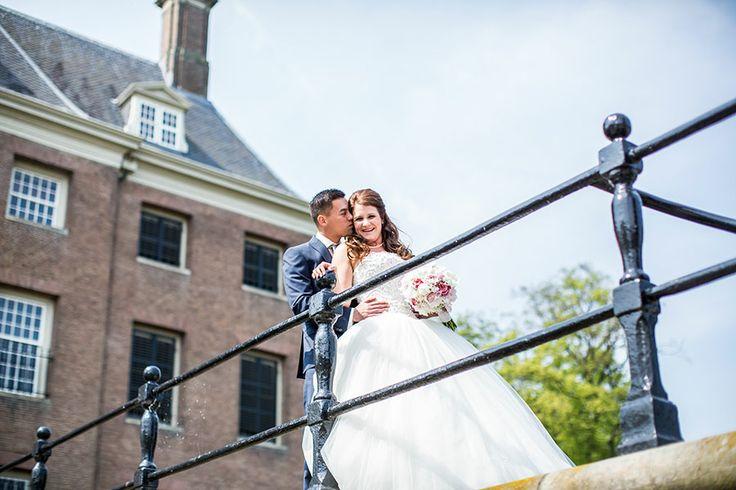 Bruiloft kasteel Amerongen, Bruidsfotograaf   Dario Endara