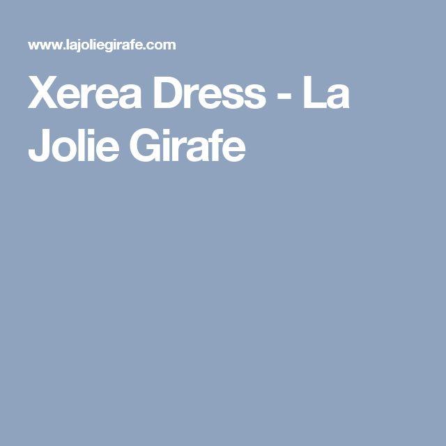 Xerea Dress - La Jolie Girafe