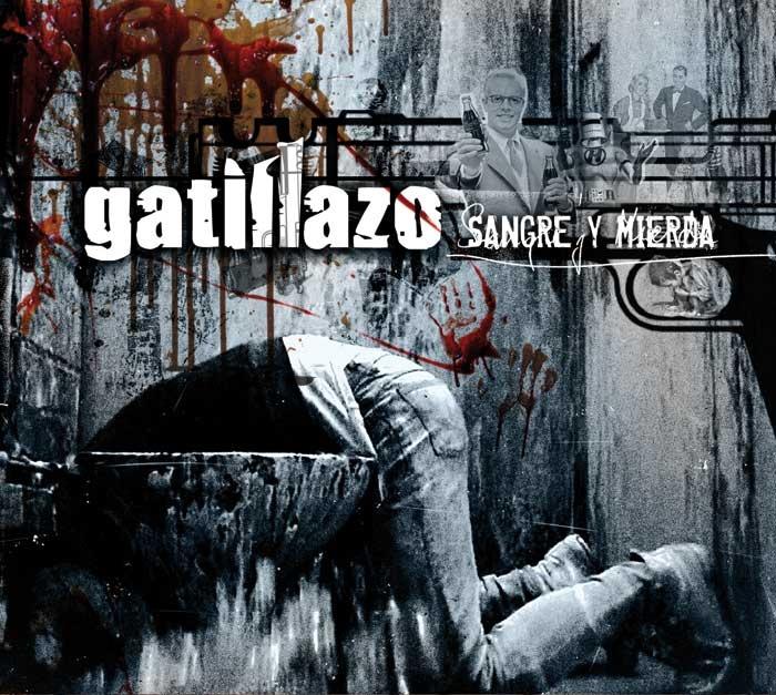 """Portada para Gatillazo """"Sangre y Mierda"""""""