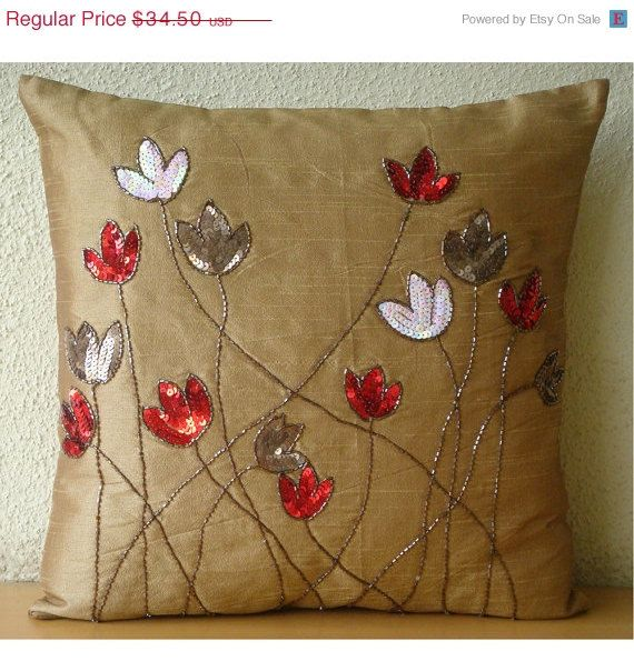 ON SALE Decorative Throw Pillow Covers Accent by TheHomeCentric, $31.05