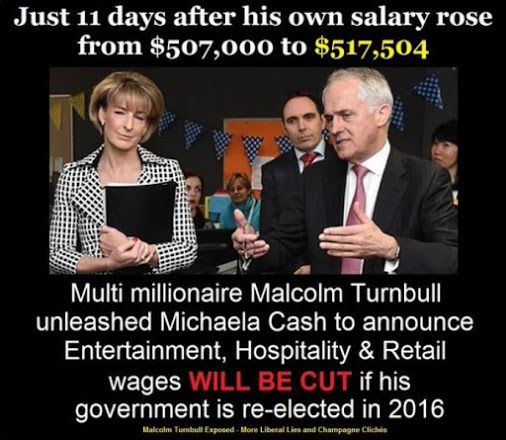 Business will pocket even fatter profits with Turnbull's abolition of penalty…