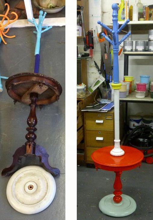 odd furniture pieces. during upcycledhour outofthedarkuk wwwoutofthedarkorguk shared these hat standstwitterfurniture odd furniture pieces