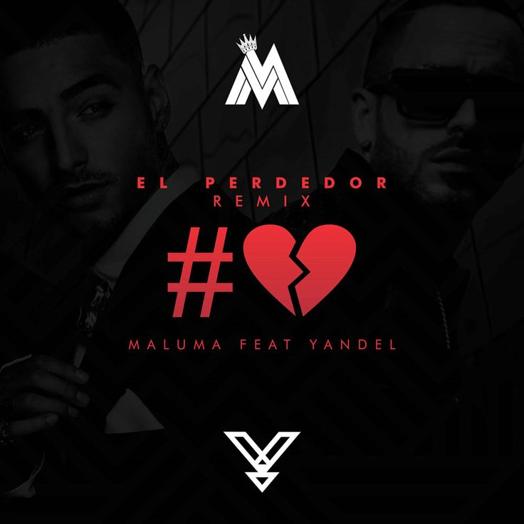 Caratula Frontal de Maluma - El Perdedor (Featuring Yandel) (The Remix) (Cd Single)
