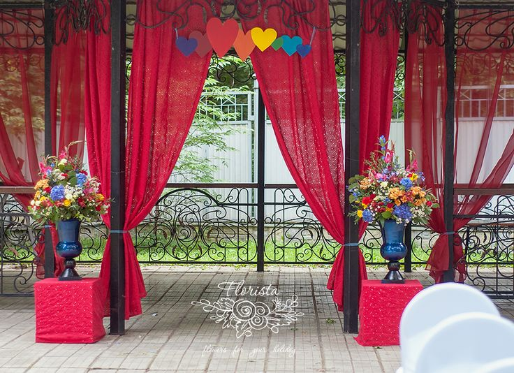свадьба , выездная регистрация, насыщенные цвета, разноцветная свадьба, флористика, Love is, любовь, красная, букет , цветы
