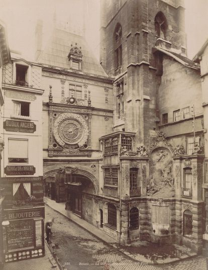 Rouen - La Grosse Horloge. Vers 1895 / Neurdein frères (Photographes)