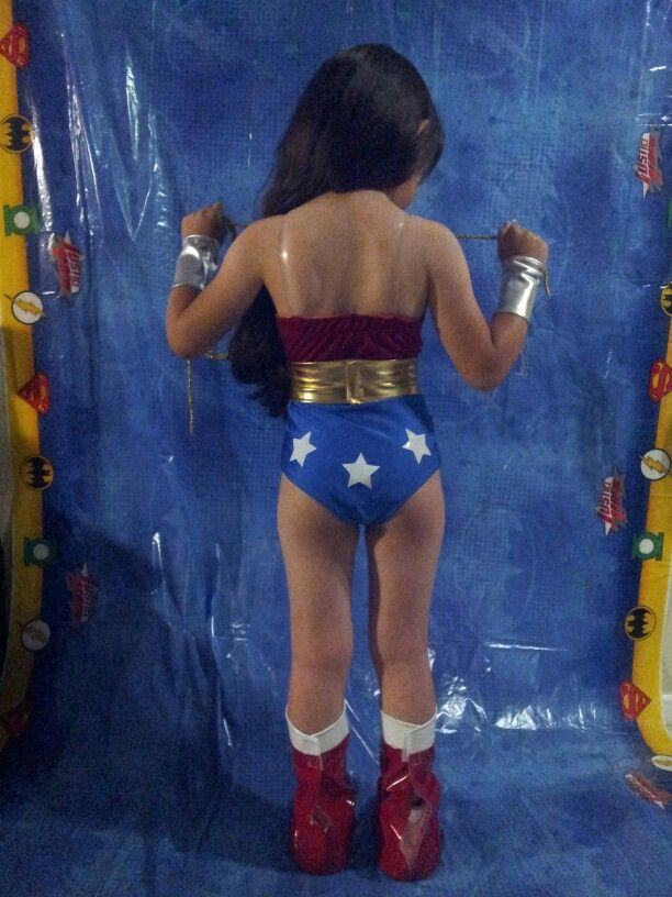 Emily Ortiz 6 Years Old Wonder Woman Cosplay Justice -9677