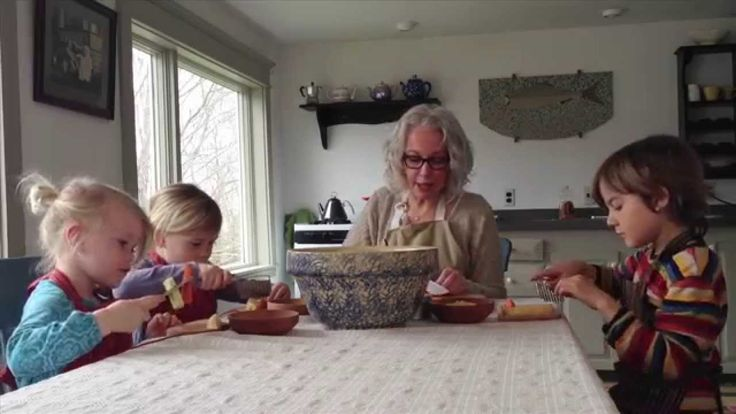 "Cooking with Children: How to Make ""Stone Soup"" [VIDEO] with Sarah Baldwin, an experienced Waldorf early childhood teacher. (+playlist)"