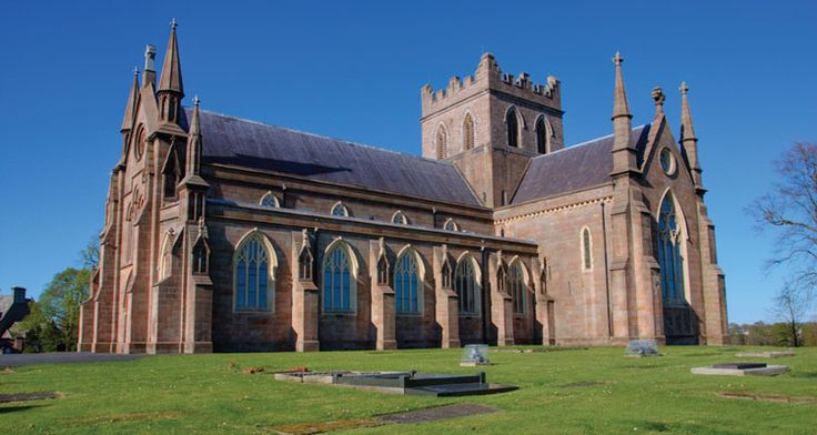 St. Patrick's Cathedral, Armagh City, Armagh, Ireland