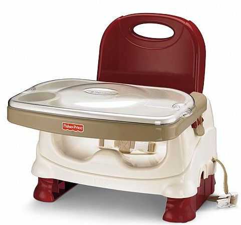 Fisher-Price Healthy Care Deluxe Booster Seat - winner of BabyGearLab's Best Value Award