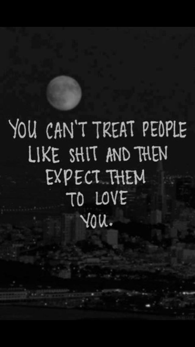 My ex boyfriend needs to learn this, and that it's too late after 8 years and I'm married.