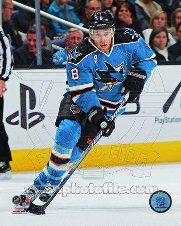Joe Pavelski 2011-12 Action