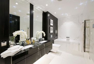 375 Kensington High Street - contemporary - Bathroom - London - CID Interior