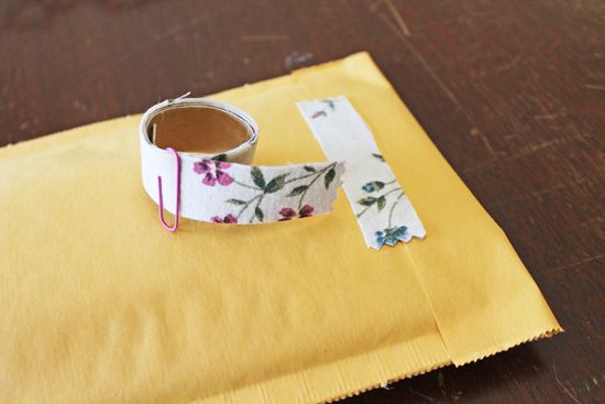 Acute How-To: DIY Fabric tape