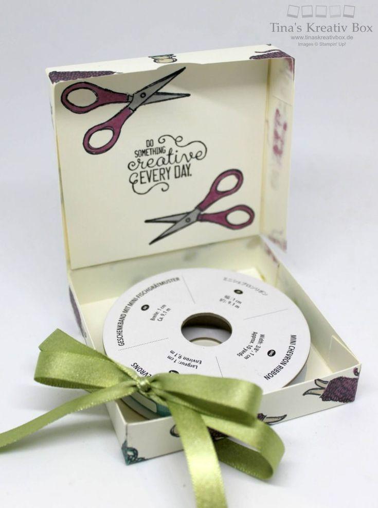 Pootler's Design Team Woche 4 – Bänder Verpackung - mit Produkten von Stampin' Up!