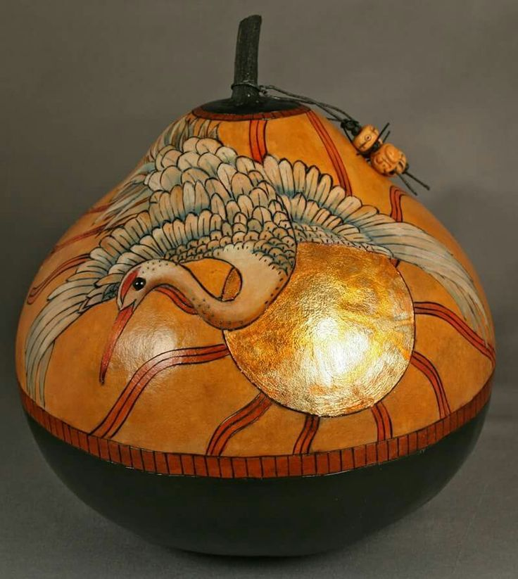 17 best images about gourd art carla bratt gourd for Where to buy gourds for crafts