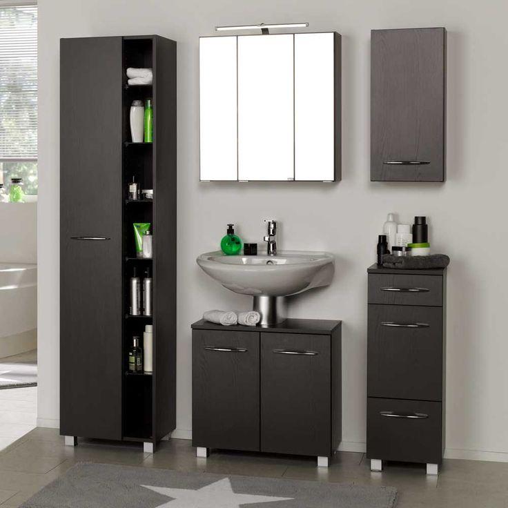Badezimmermöbel grau  Die besten 25+ Badezimmermöbel set Ideen auf Pinterest | Wcs ...