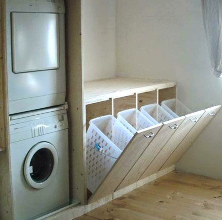 Laundry room set up