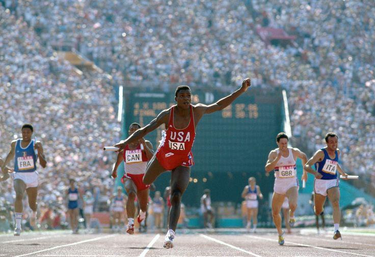 Carl Lewis, 1984 Summer Olympics