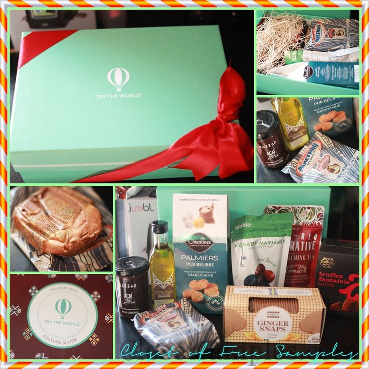 Try the World Holiday Box #Review | Closet of Free Samples | Get FREE Samples by Mail | Free Stuff