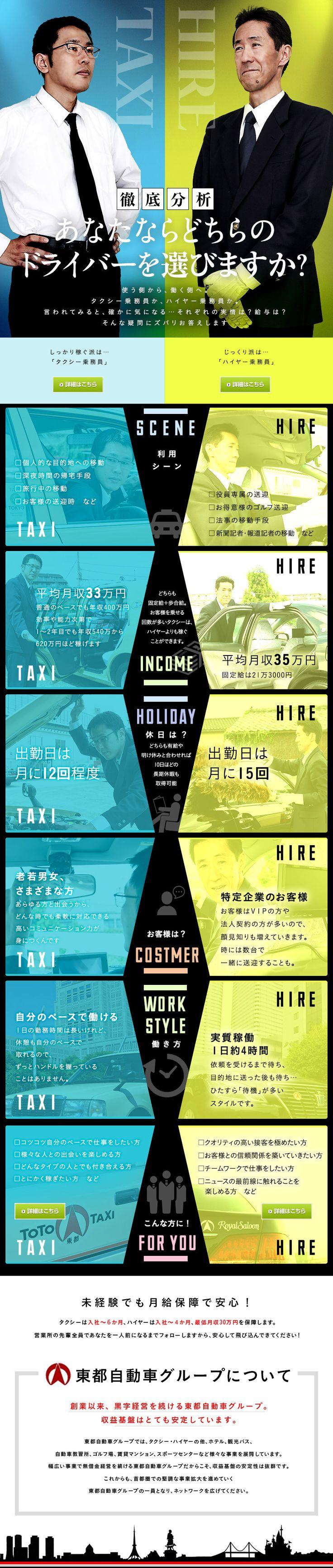東都自動車グループ合同募集/タクシー乗務員/入社後6ヶ月間は最低月収30万円を保障!の求人PR - 転職ならDODA(デューダ)