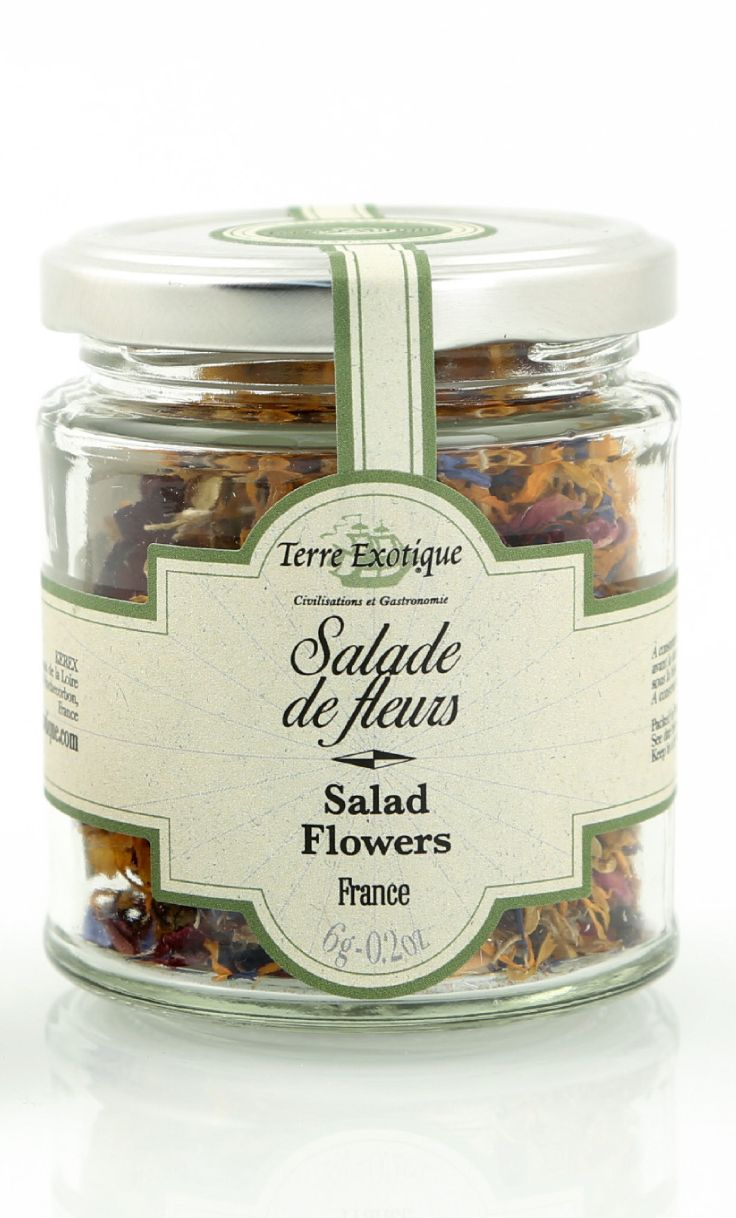 TERRE EXOTIQUE : Salade de fleurs