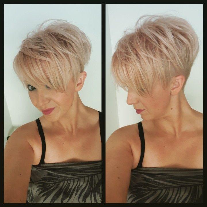 Meine neuen kurzen Haare mit Hinterschnitt #haare #hinterschnitt #kurzen #meine