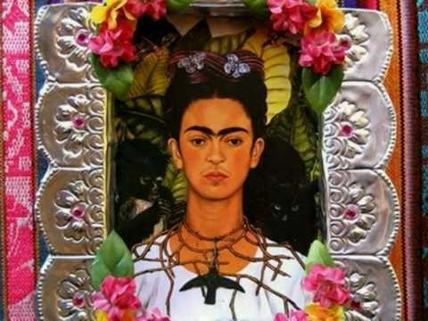 Video de la casa azul de Frida Kahlo, con musica de Susana Harp, La llorona, y motivos alegoricos al dia de muertos, tradicion mexicana