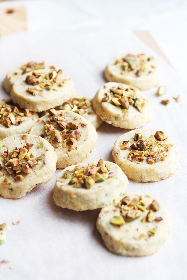 ... pistachio orange shortbread ...
