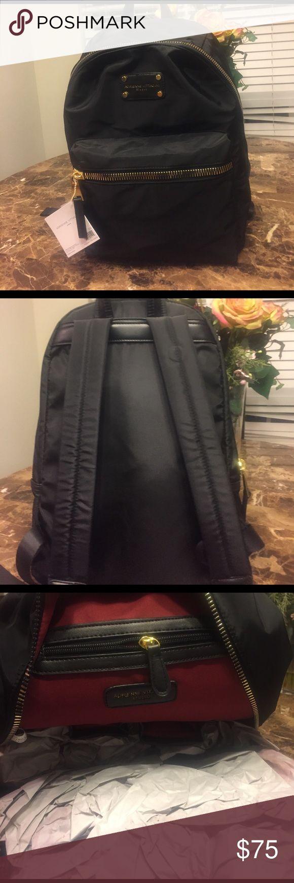 Adrienne Vittadini nylon fashion back pack. Adrienne Vittadini nylon fashion back pack. Super classy! Adrienne Vittadini Bags Backpacks