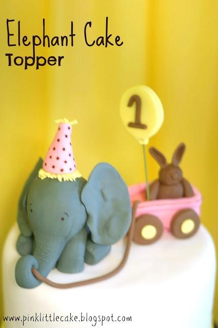 Big elephant Cake topper