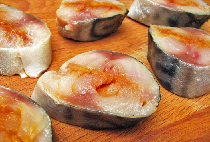 Скумбрия соленая. - Foodclub — кулинарные рецепты с пошаговыми фотографиями