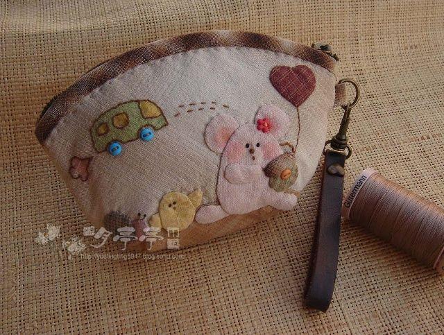 [转载]【转载】上学鼠零钱包,图纸分享