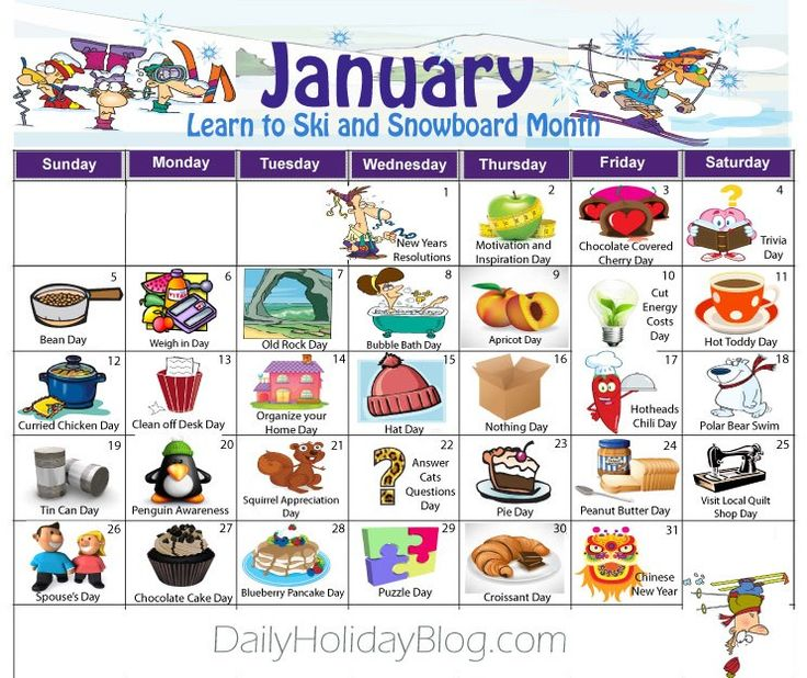 Monthly Calendar Of Events Special Days To Celebrate : Best ideas about holiday calendar on pinterest