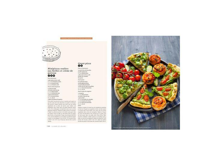 Vegan, recettes végétariennes de Marie Laforêt #recette #pizza #vegetarien