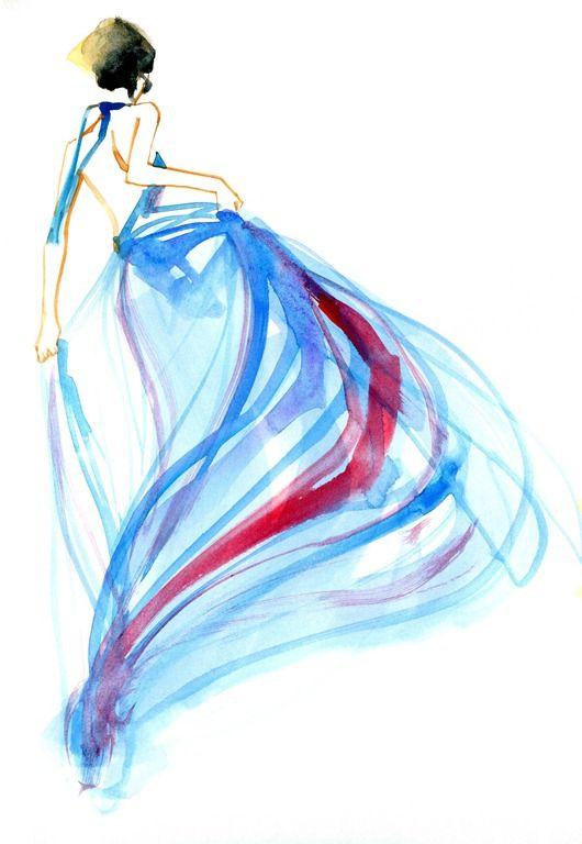 bill donovan / fashion ilustration