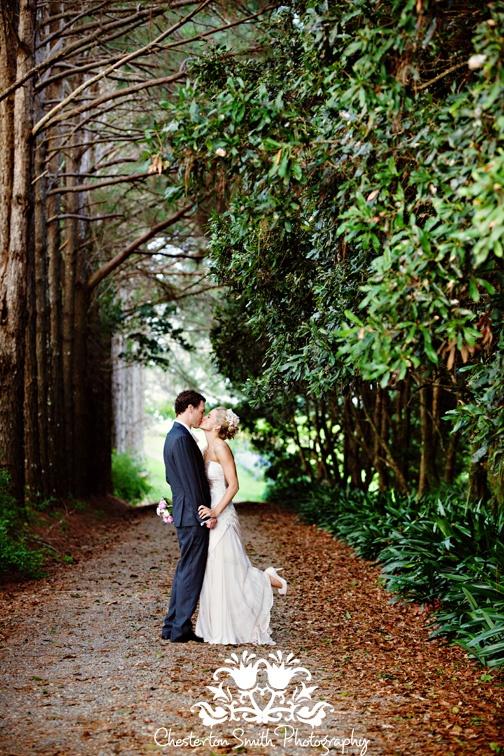 Maleny Wedding Kiss
