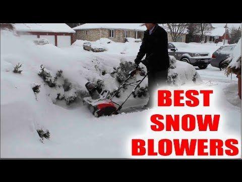 Best Electric Snow Blower   Snowblowers In Deep Snow   Electric Snow Blo...
