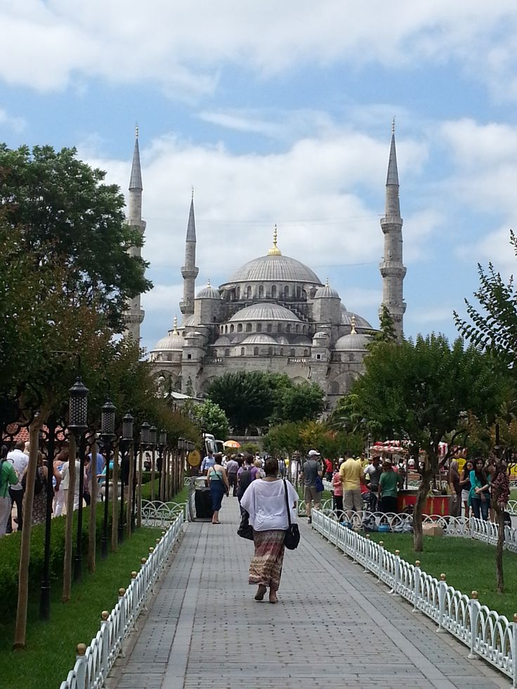 The Blue Mosque of Istanbul, Turkey