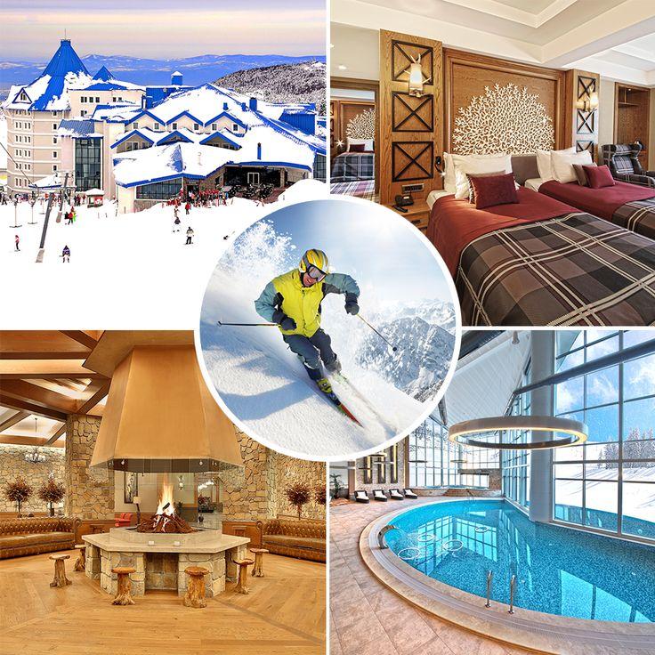 Bof Hotel ile Uludağ'ın zirvesinde kayak, şömine başı sohbetler ve konforlu konaklamalar ile kış tatilinin keyfi başka çıkar. bit.ly/MNGTurizm-bof-hotel-s