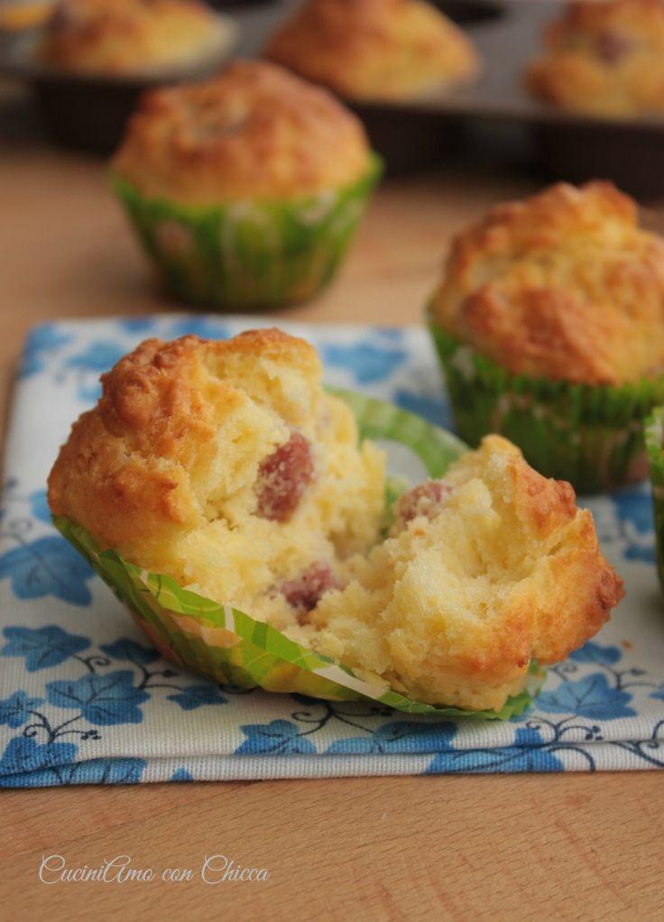 Muffin al formaggio |CuciniAmo con Chicca
